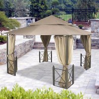 Garden Winds Riplock Fabric Replacement Canopy Top For ...