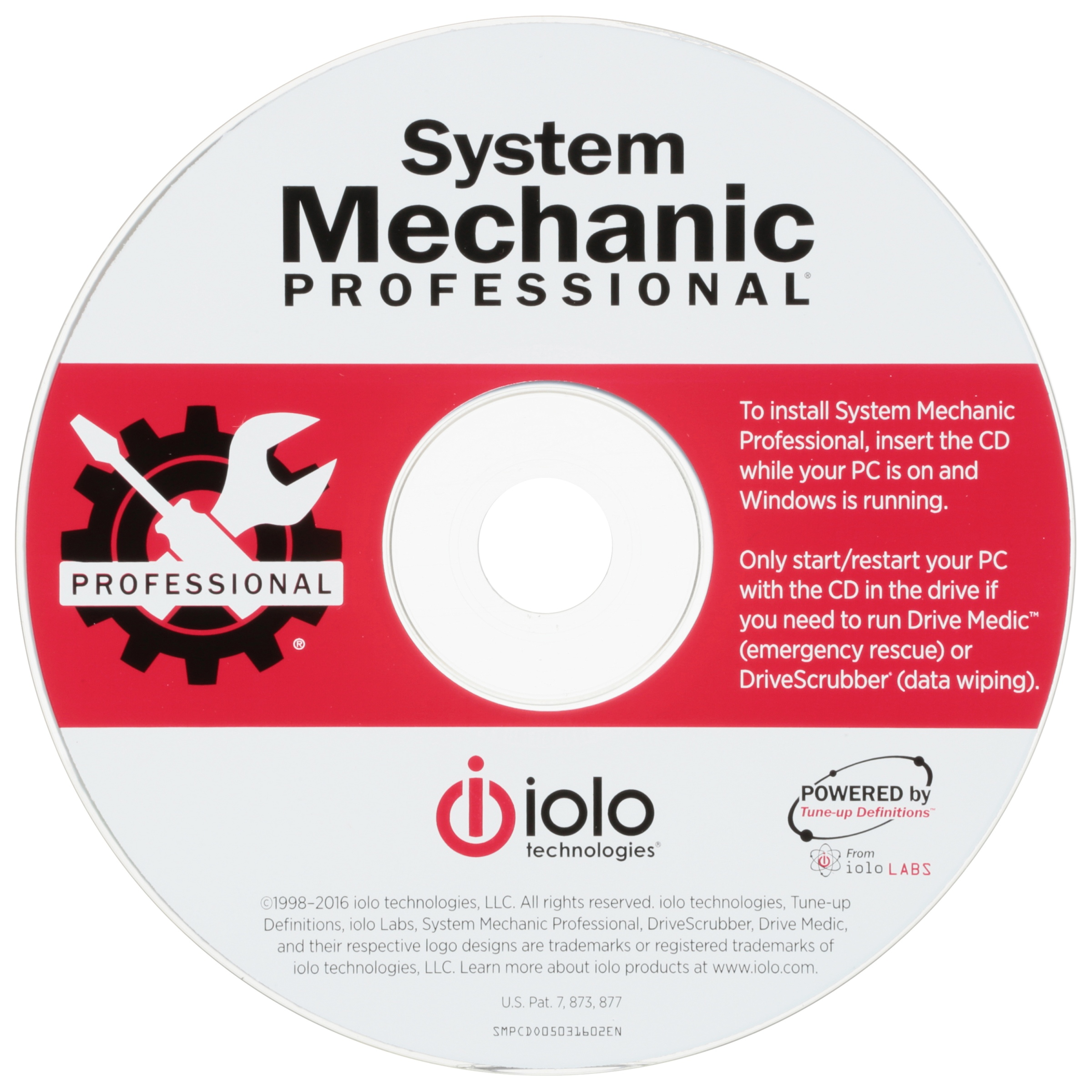 System Mechanic Iolo System Mechanic Pro Pc Repair Software Walmart