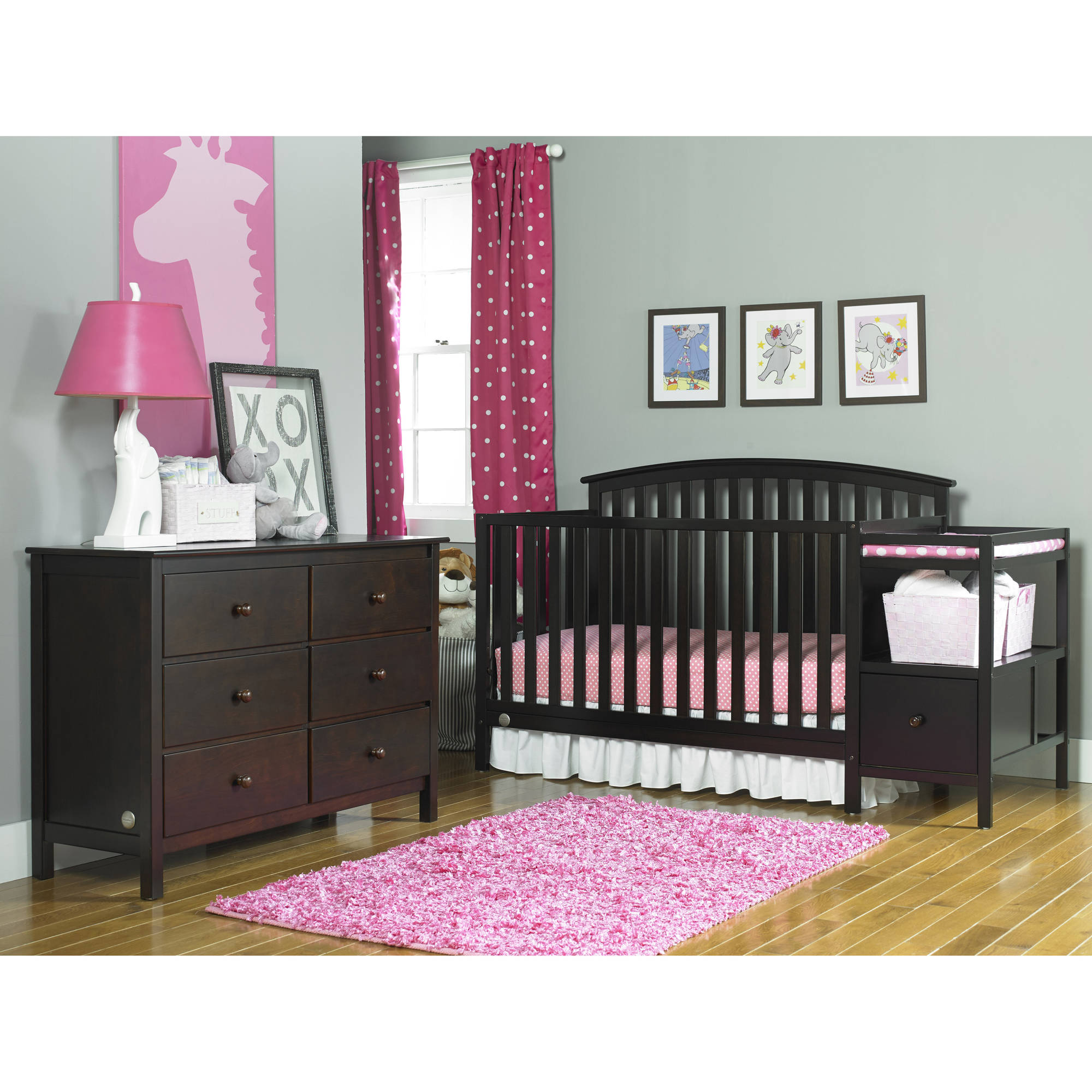 Huntington Bedroom Furniture Fisher Price Huntington 4 In 1 Convertible Crib N Changer