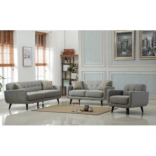 Roundhill Furniture Modibella 2 Piece Living Room Set