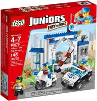 LEGO Juniors Police The Big Escape Building Set - Walmart.com
