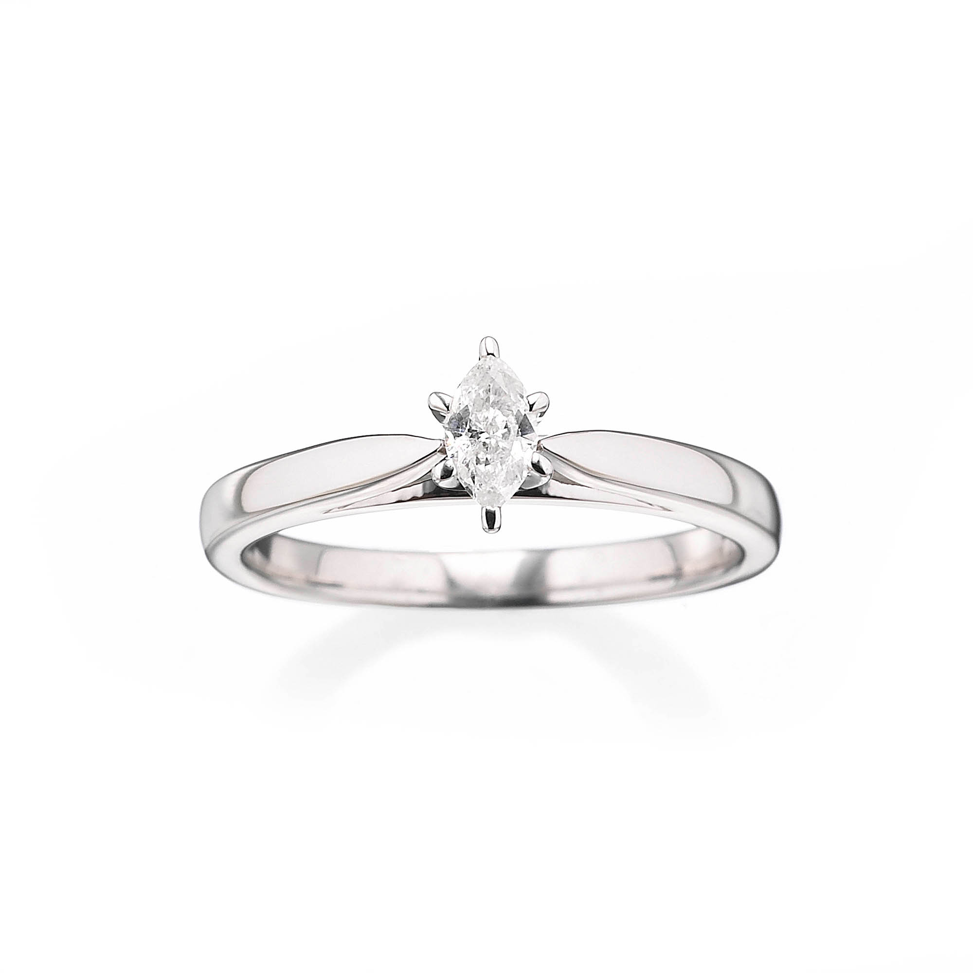 Always & Forever Platinaire 1/5 Carat Diamond Marquise
