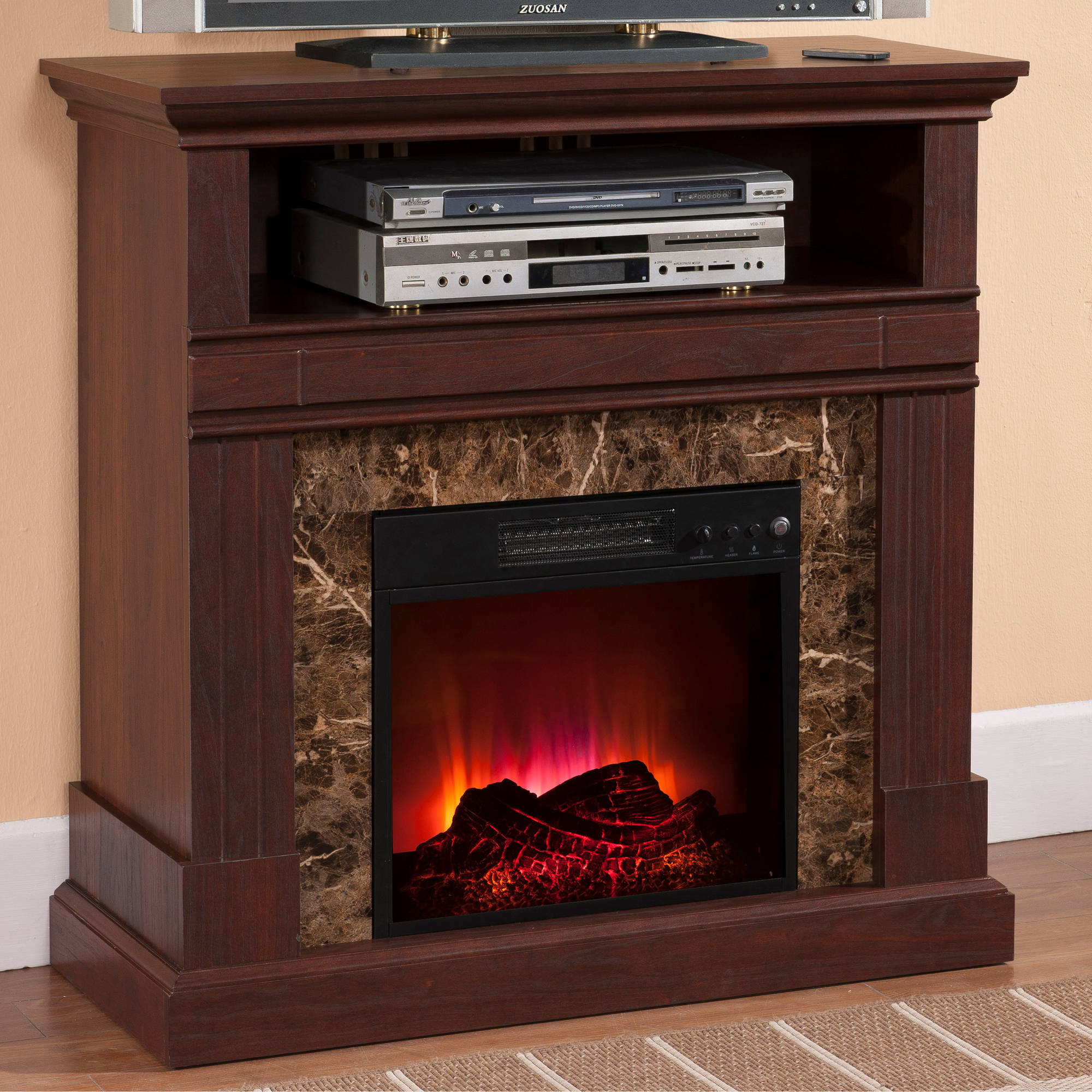 Electric Fireplaces For Sale At Walmart Prokonian Electric Fireplace With 36