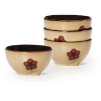 Pfaltzgraff Studio Aster Set of 4 Fruit Bowls - Walmart.com