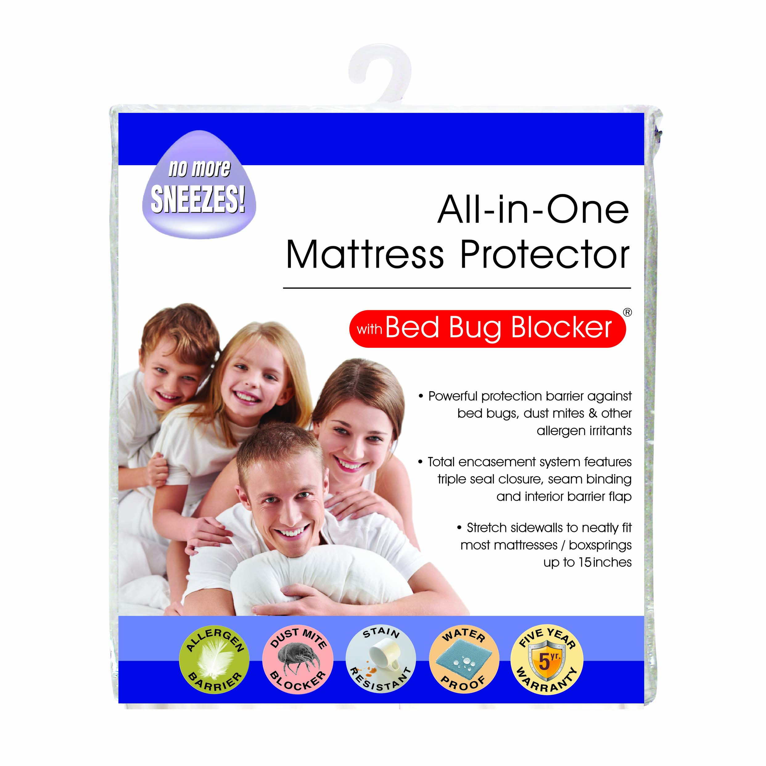 Bed Bug Protection Cover Original Bed Bug Blocker Zippered Mattress Cover Protector