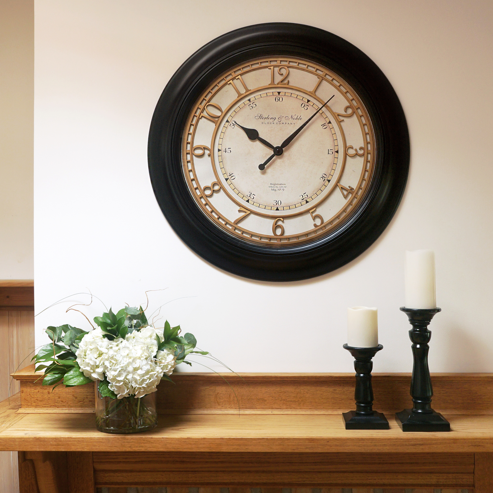 Buy Clock Special Buy Oversized Clocks Under 25 Walmart