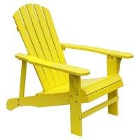 HRH Designs Wood Adirondack Chair - Walmart.com
