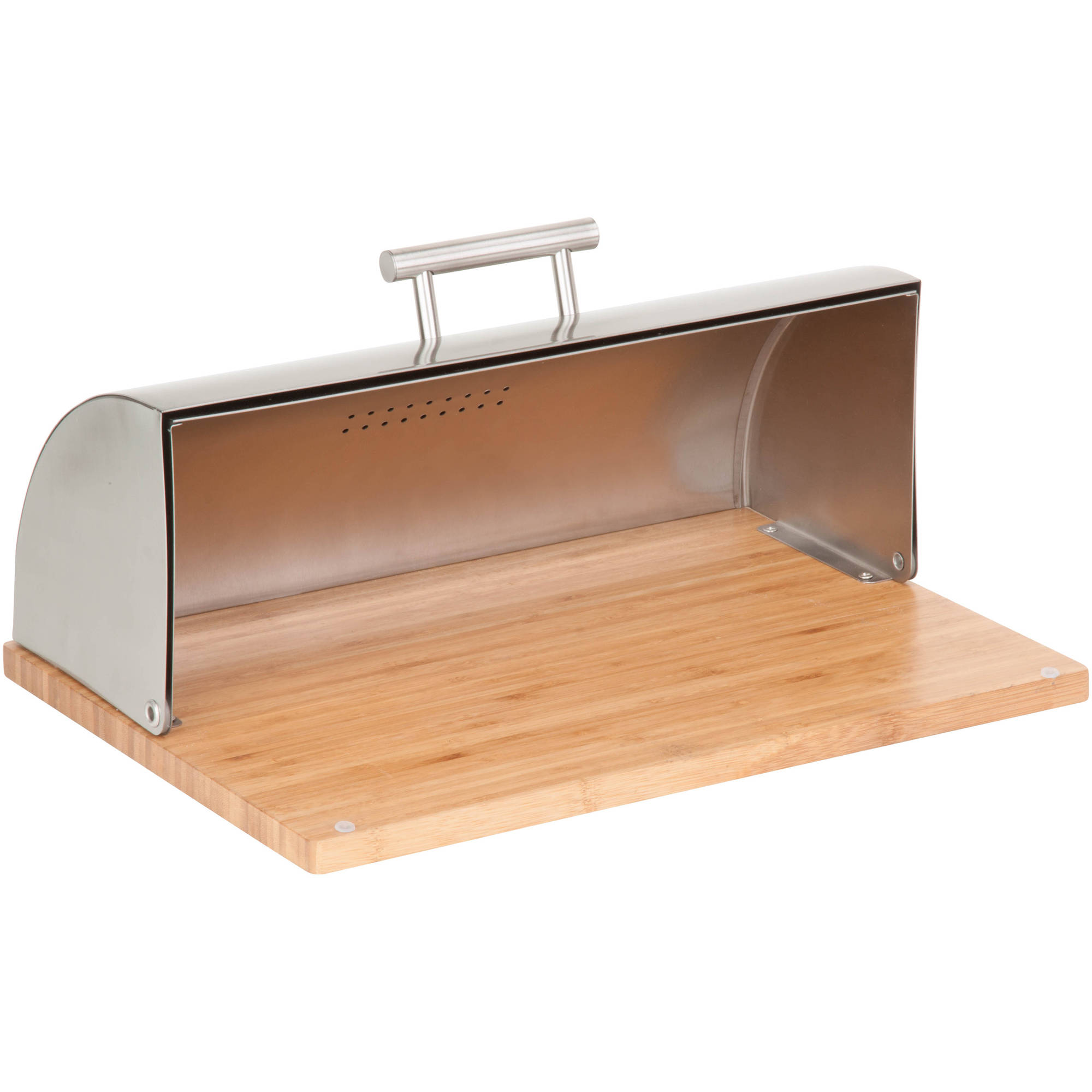 Couchtisch Alpha Better Homes And Gardens Stainless Steel Bread Box Walmart