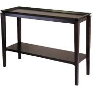 Finley Sofa / Console Table, Dark Espresso - Walmart.com