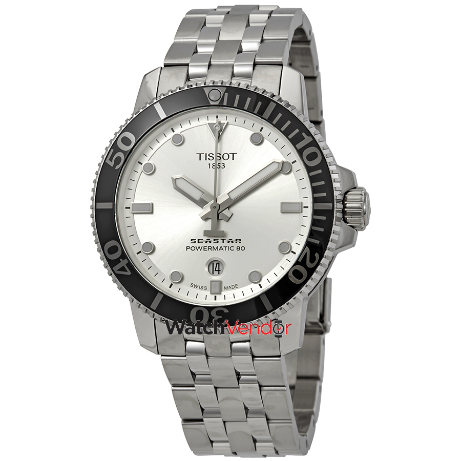 Meuble Tissot Tissot Seastar 1000 Automatic Silver Dial Men S Watch T120 407 11 031 00
