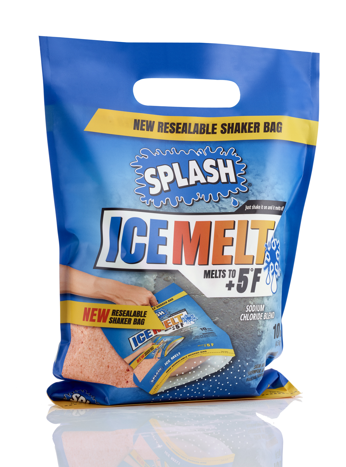 Home Depot Ice Melt Splash Ice Melt 10lb Shaker Bag Walmart Inventory