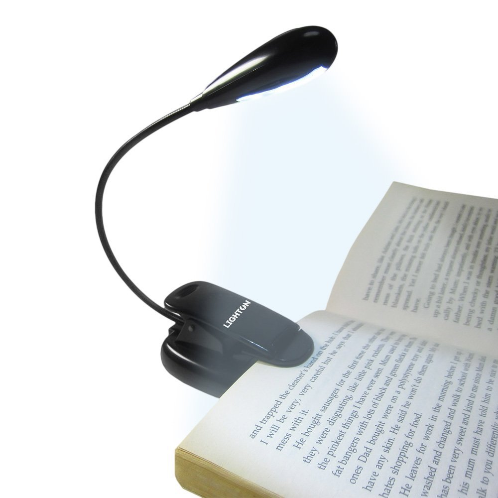 Clip On Bed Lamp Rechargable Reading Light Table Lamp Bed Desk Clip On Book Adjustable Clamp