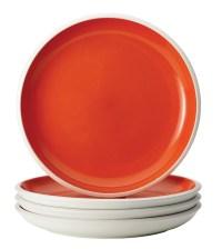 Rachael Ray Dinnerware Rise 4-Piece Stoneware Dinner Plate ...