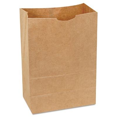 1 6 Bbl 65 Paper Bag Natural Kraft Grocery Sack Brown