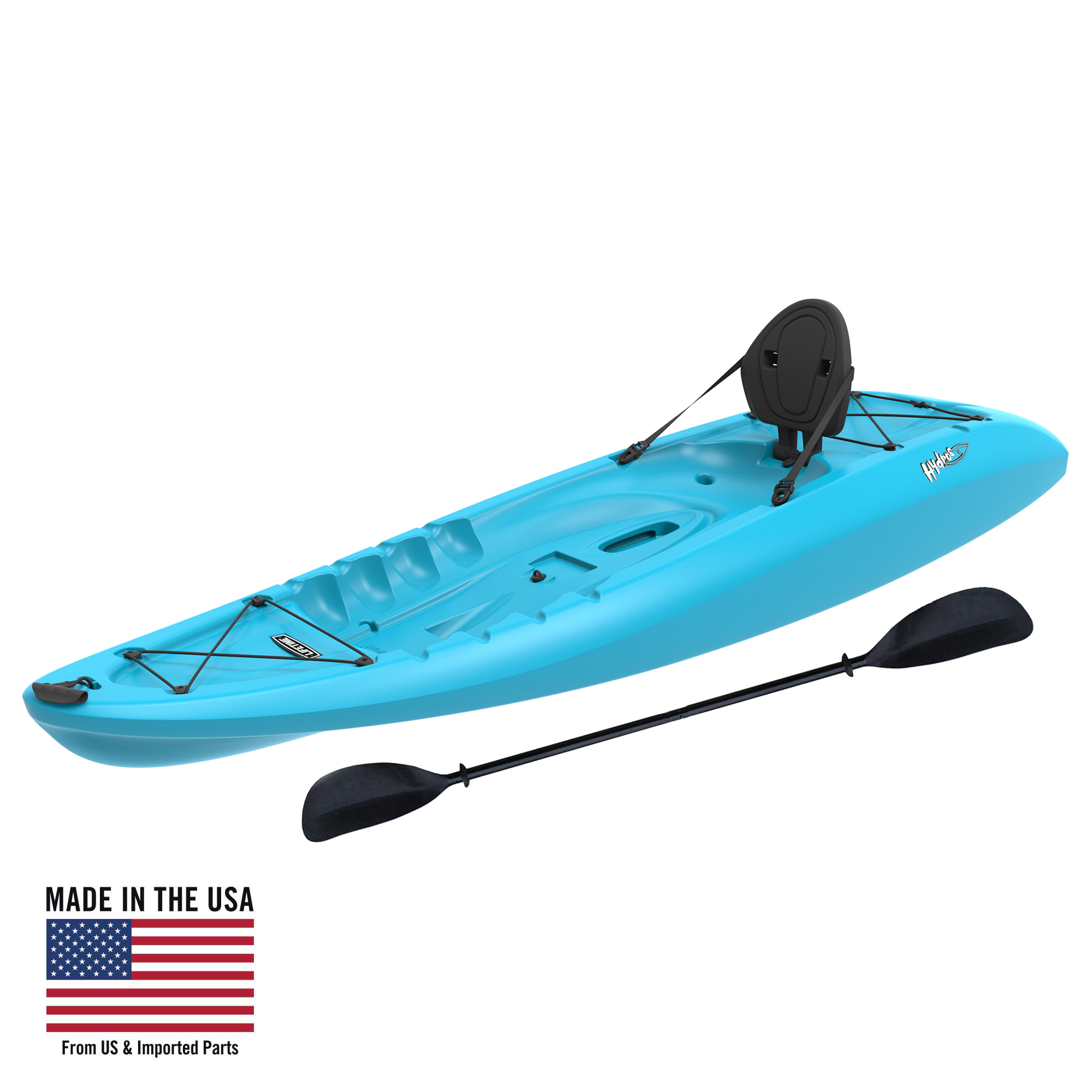Kayak Lifetime Hydros 85 Sit On Top Kayak Paddle Included