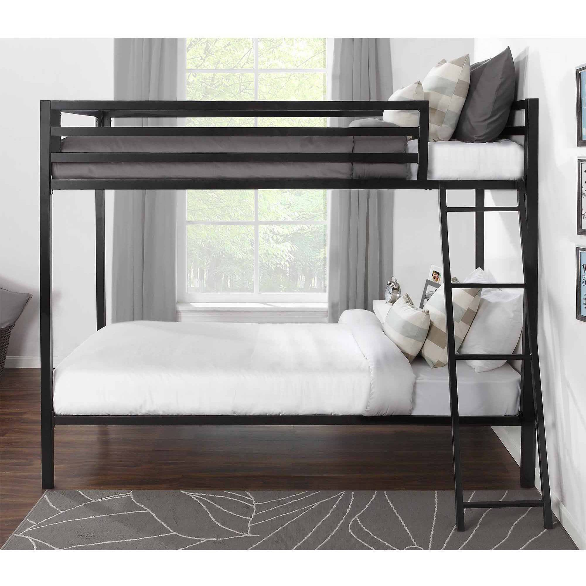 3 Twin Beds In The Space Of 1 Bunk Beds Twin Over Twin Kids Furniture Bedroom Ladder