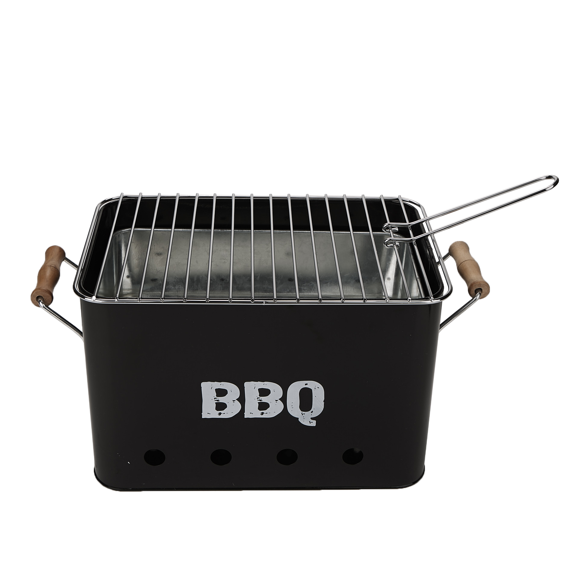 Small Barbecue Grill Mind Reader Small Metal Portable Bbq Grill Charcoal Lightweight Portable Grill Outdoor Grilling Picnics Beachs Camping Black