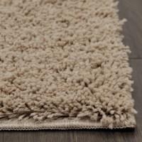 Shag Carpet Thick Living Room '5x8' Home Decorative Taupe ...