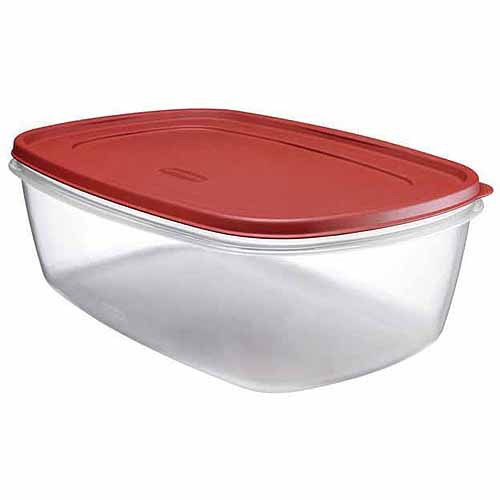 Rubbermaid 25 Cup Easy Find Lids Food Storage Container
