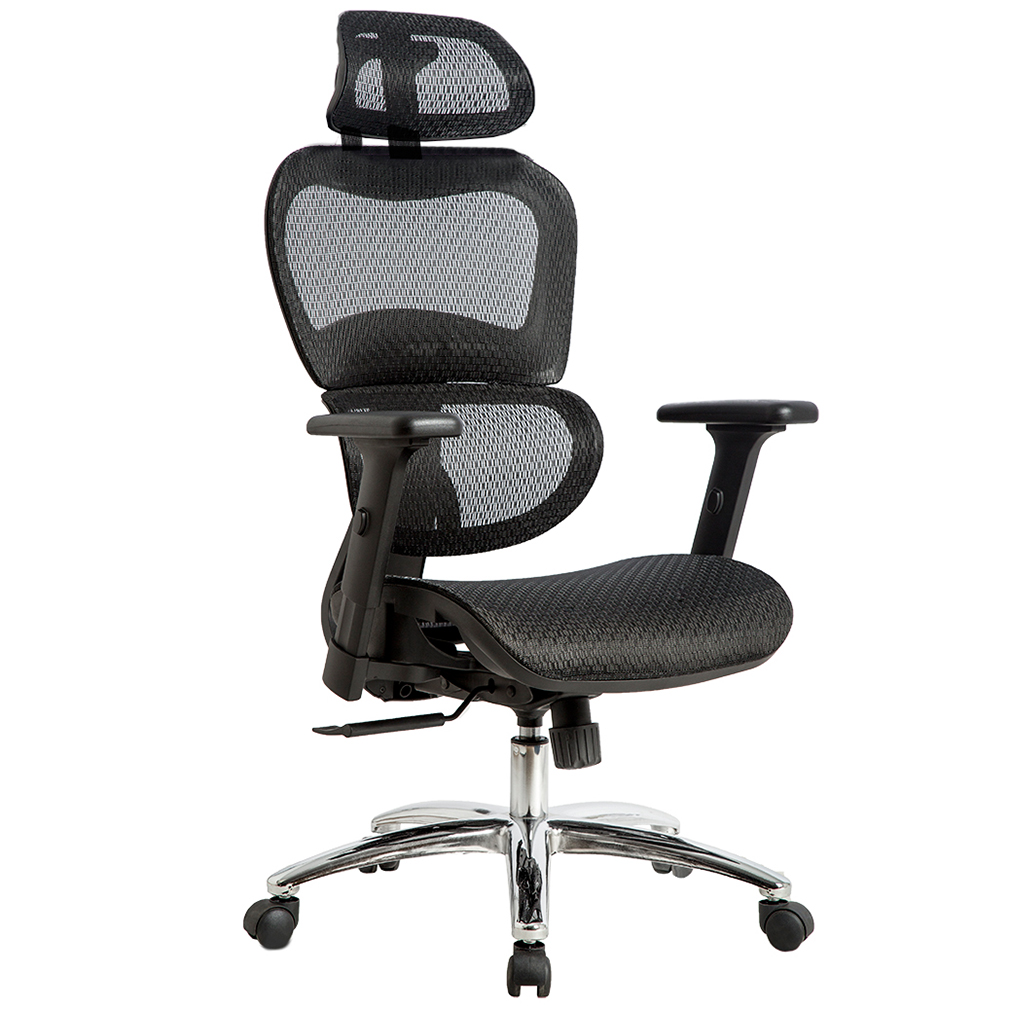 Grey Desk Chair Office Chair Mesh Chair Ergonomic Chair Desk Computer Swivel Executive Rolling Home Tall Chair With 3d Arms Back Lumbar Support For Conference Office