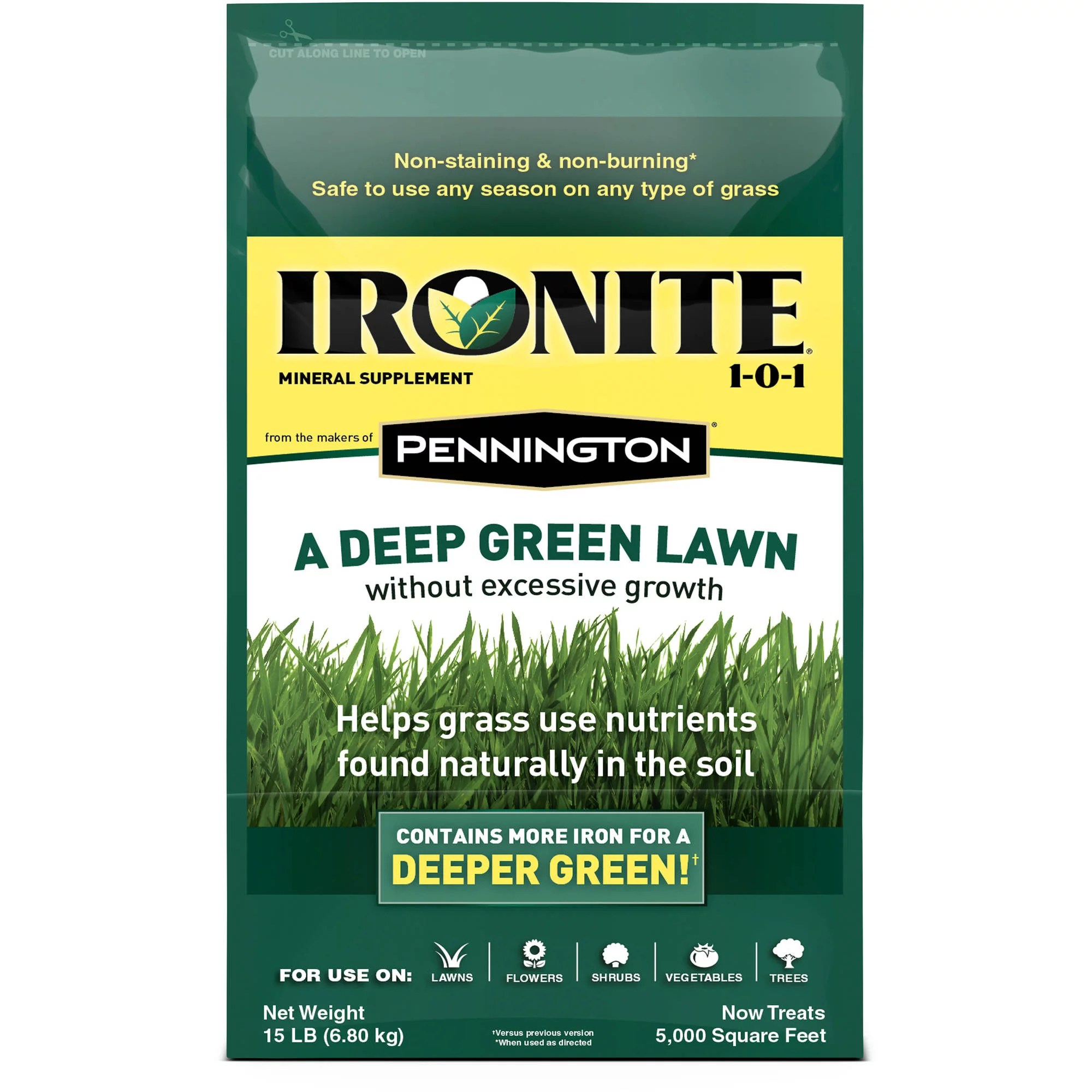 Ironite Ironite Mineral Supplement By Pennington 1-0-1 Soil