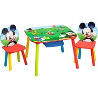 Disney Mickey Mouse Bedroom Set with BONUS Toy Organizer ...
