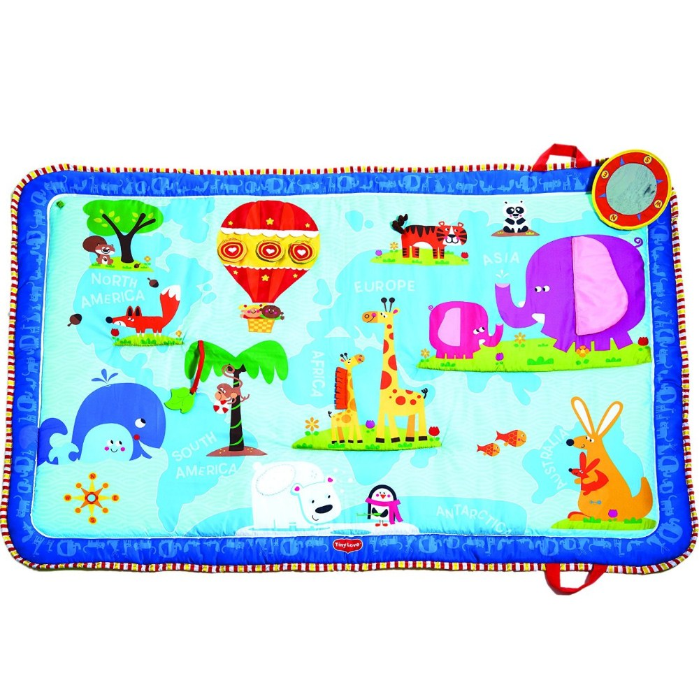 Tappeto Puzzle Baby Smile Tiny Love Discover The World Mat