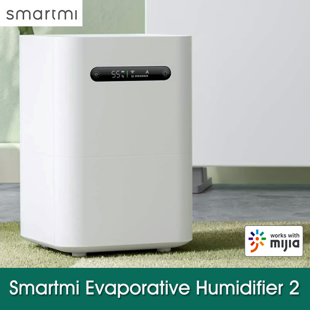 Smartmi Evaporative Humidifier 2 Home Office Air Dampener Aroma Diffuser Essential Oil Smart Air Purification Humidifier Mijia App Control Cjxjsq04zm Walmart Canada