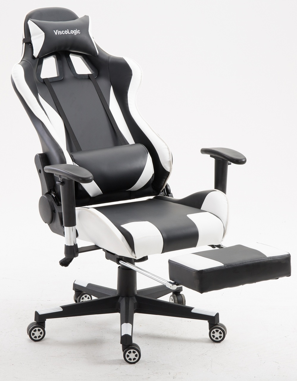 Computer Chair Ergonomically Correct Viscologic Speedx Ergonomic Gaming Chair For Pc Video Game Computer Chair Racing Chairs With Footrest