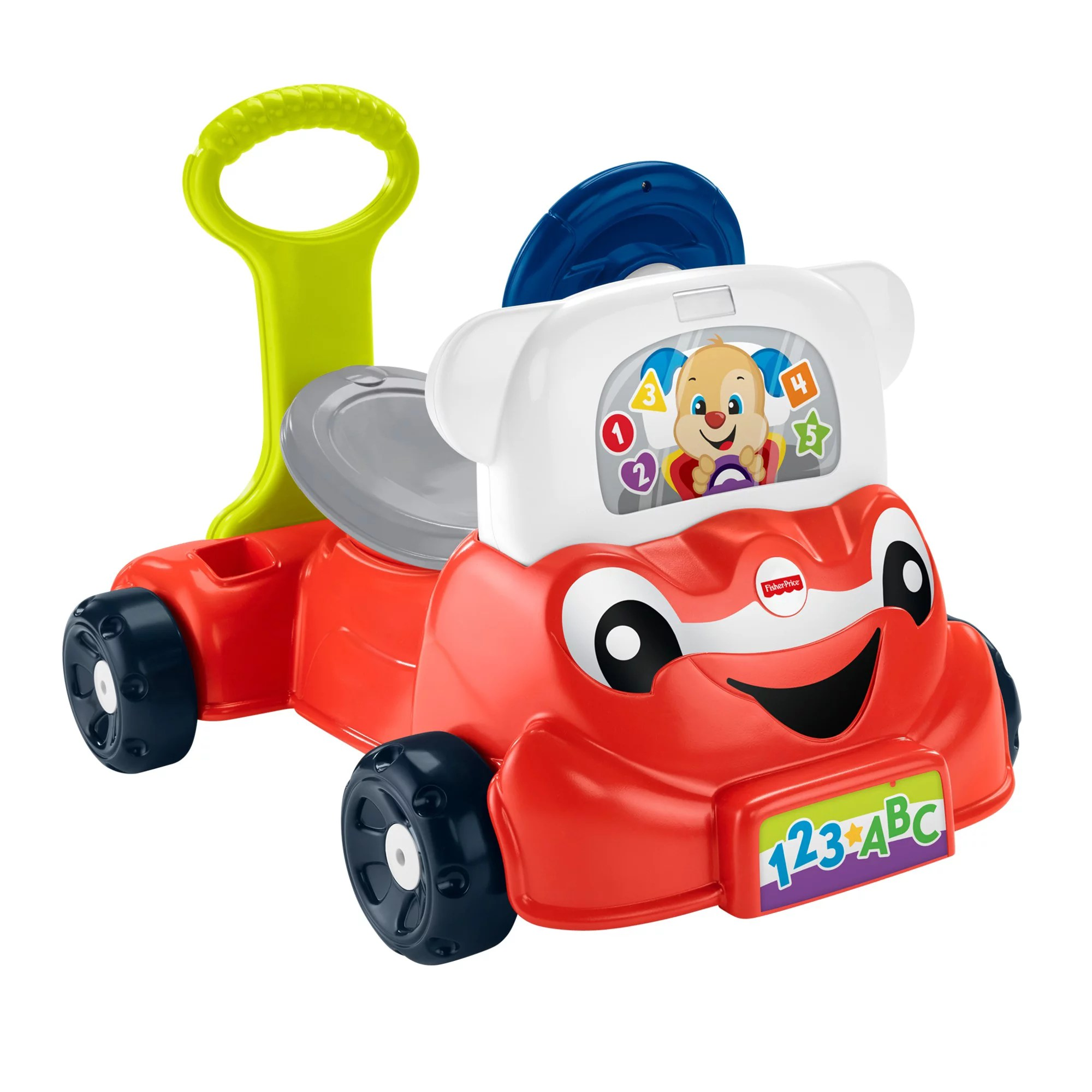 Toddler Car Dashboard Fisher Price Laugh Learn 3 In 1 Interactive Smart Car Walmart
