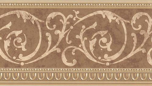 877305 Architectural Scroll Wallpaper Border - Walmart.com