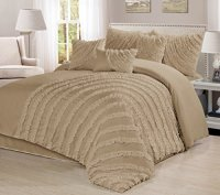 7 Piece Hillary Bed in a Bag Ruffled Clearance bedding ...