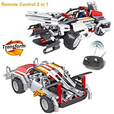 Engineering Toys Robot Rc Car Building Kit Construction
