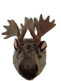 Wild Republic - Stuffed Animal Wall Mount - Big Head Moose