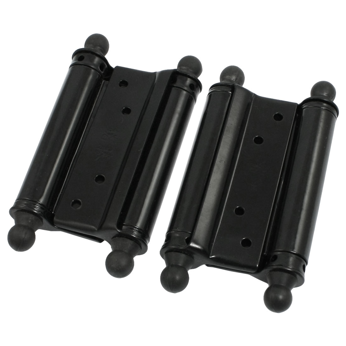 2 Pcs Tight Pin Metal Spring Loaded Door Cabinet Hinges