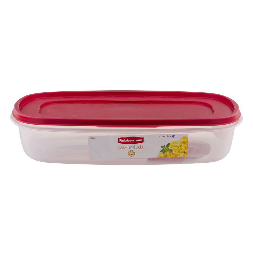 Sale Rubbermaid Easy Find Lids Food Storage Container