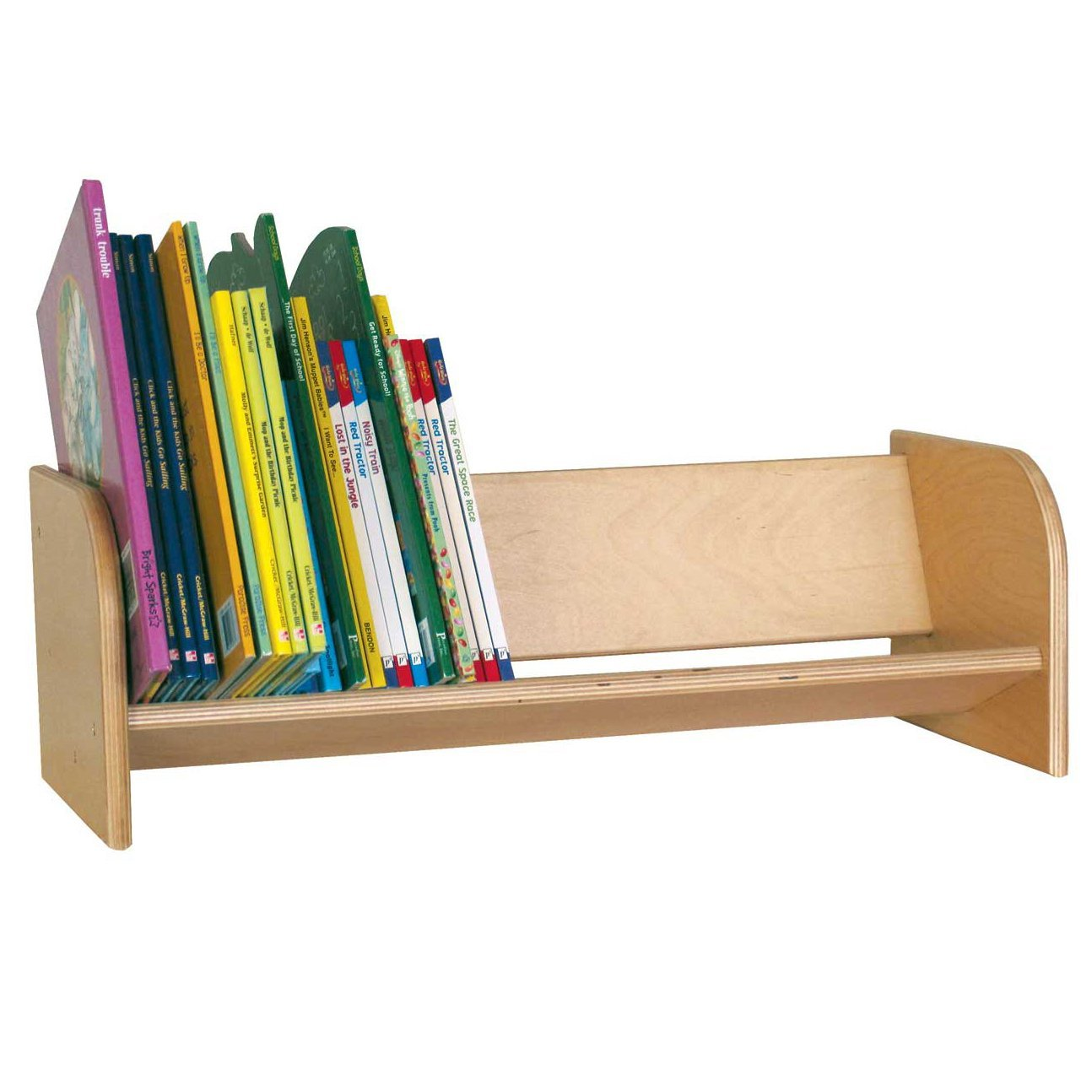 Book Display Stand Wood Designs Wd13900 Book Display Rack 8 X 24 X 10 H X W X D