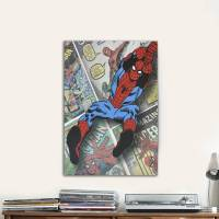Spider-Man Canvas Wall Art - Walmart.com