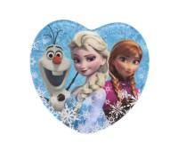 Dinner Plate Disney Frozen Heart Shaped Dinner Plate ...