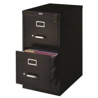 Hirsh Industries 2 Drawer Letter File Cabinet in Black ...