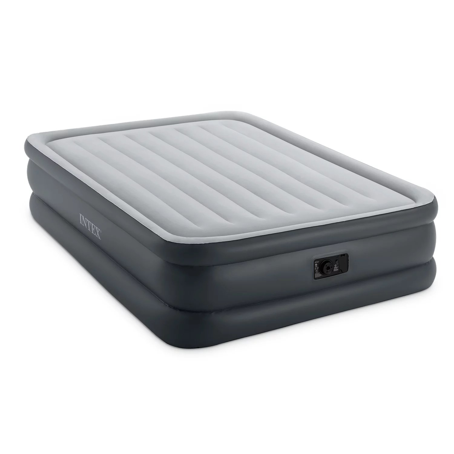 Intex Full Air Bed Intex Dura Beam Essential Rest Airbed With Built In Electric Pump Queen