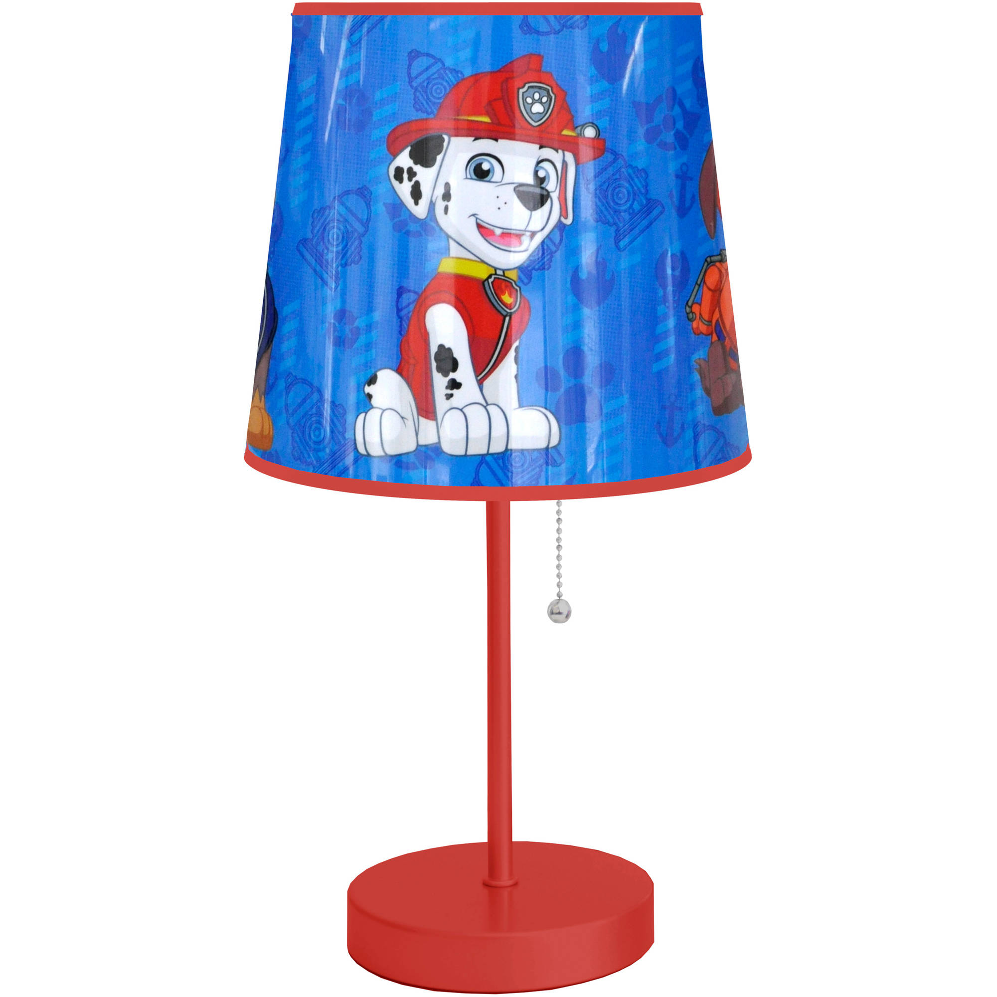 Childrens Night Light Table Lamps Paw Patrol Lamp Nickelodeon Kids Boys Bedroom Nursery