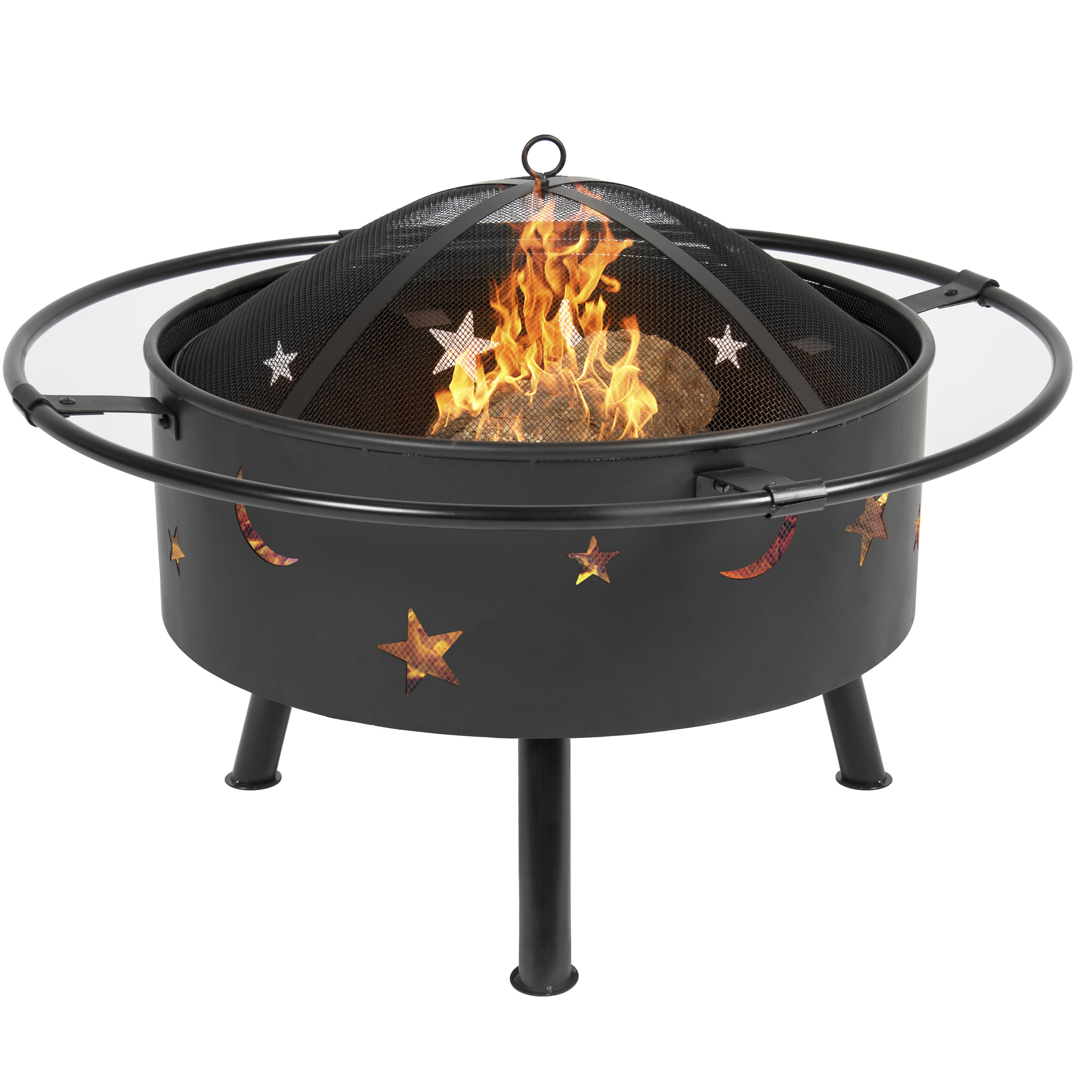 Best Choice Products 30quot Fire Pit Bbq Grill Firebowl Patio