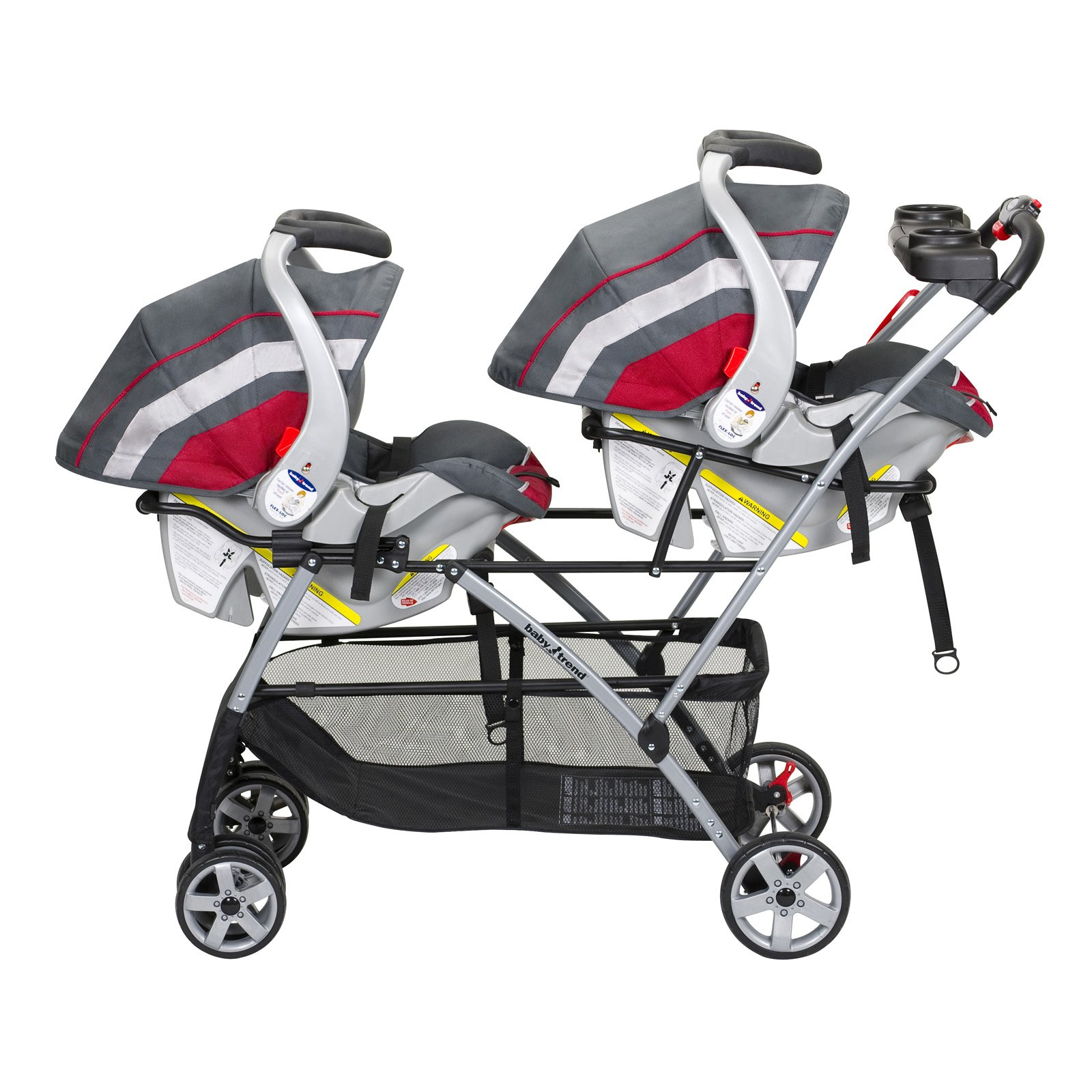 Twin Stroller And Carseat Baby Trend Snap N Go Double Universal Double Stroller