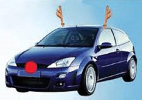 Christmas Car Decorations Reindeer