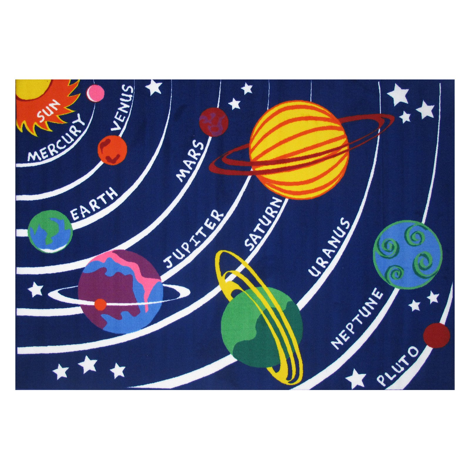 Children's Floor Rugs Fun Rugs Children S Fun Time Collection Solar System