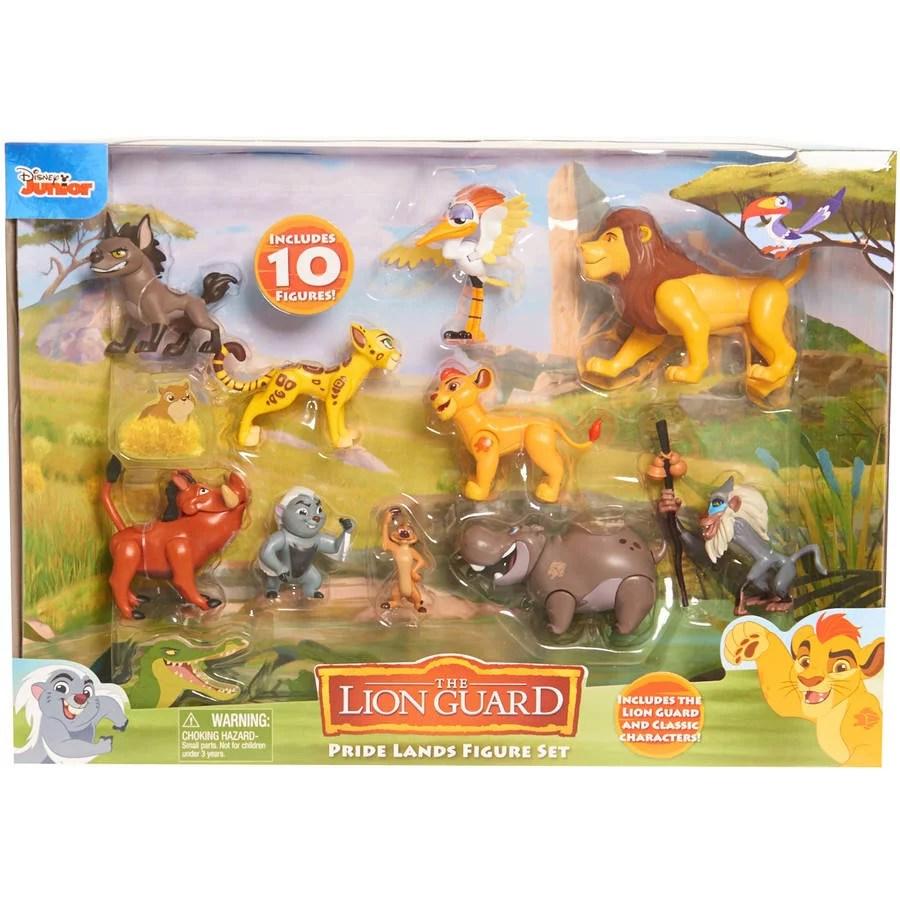 Disney The Lion Guard Deluxe Figure Pack Walmart