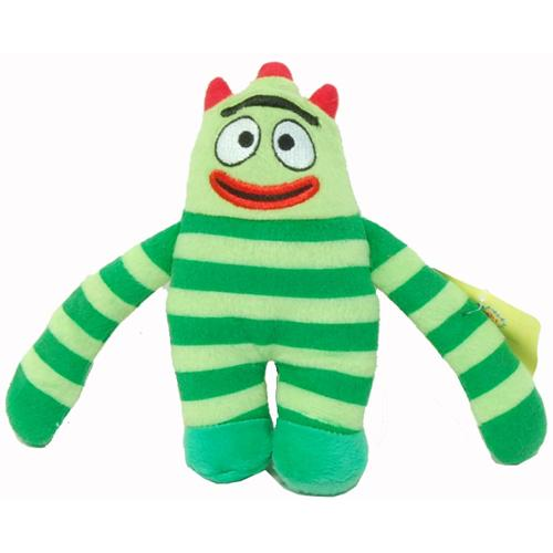 Yo Gabba Gabba 7 Plush Doll Brobee Walmart