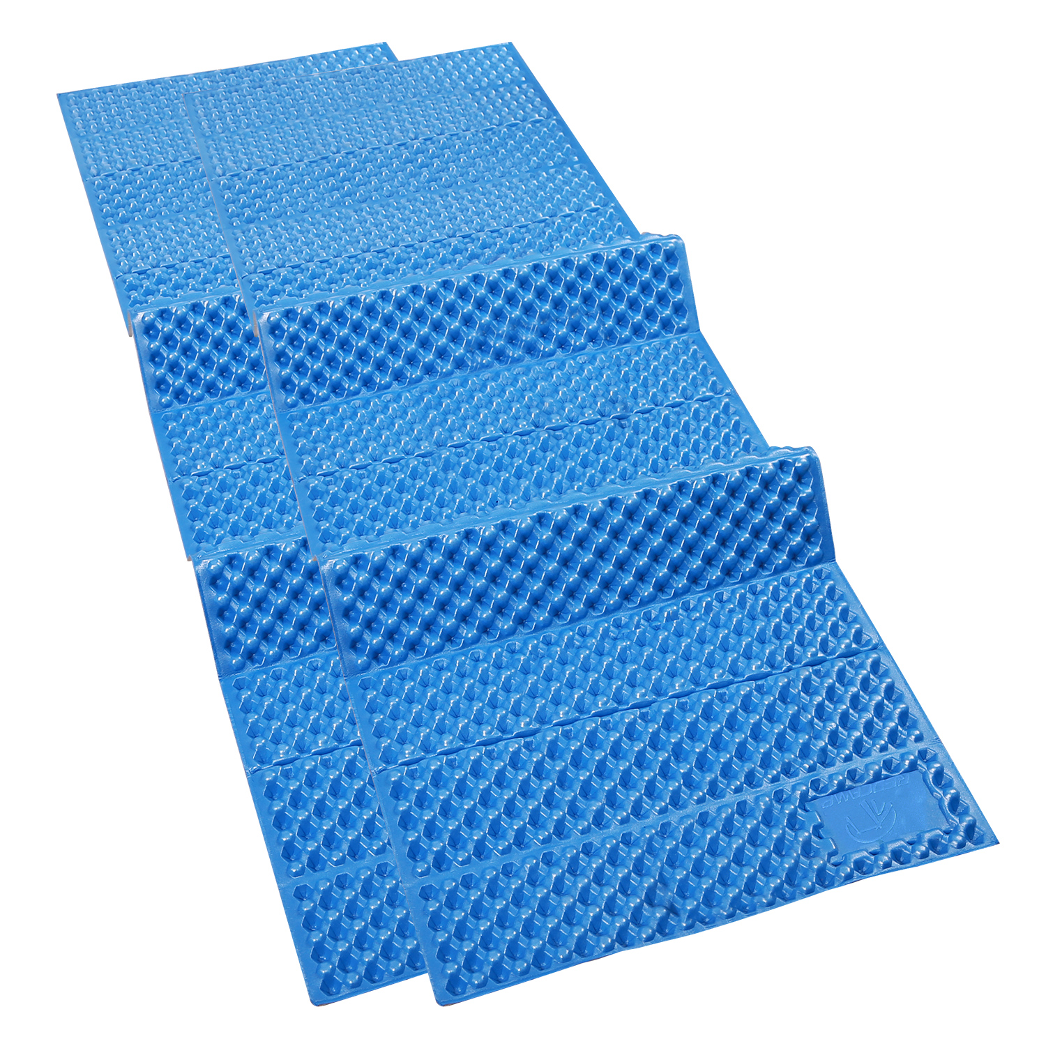 Closed Cell Foam Mat Redcamp Foam Sleeping Pad For Camping Set Of 2 2 Packs Closed Cell Foam Sleeping Mats For Camping Backpacking Hiking Silvery Blue 72