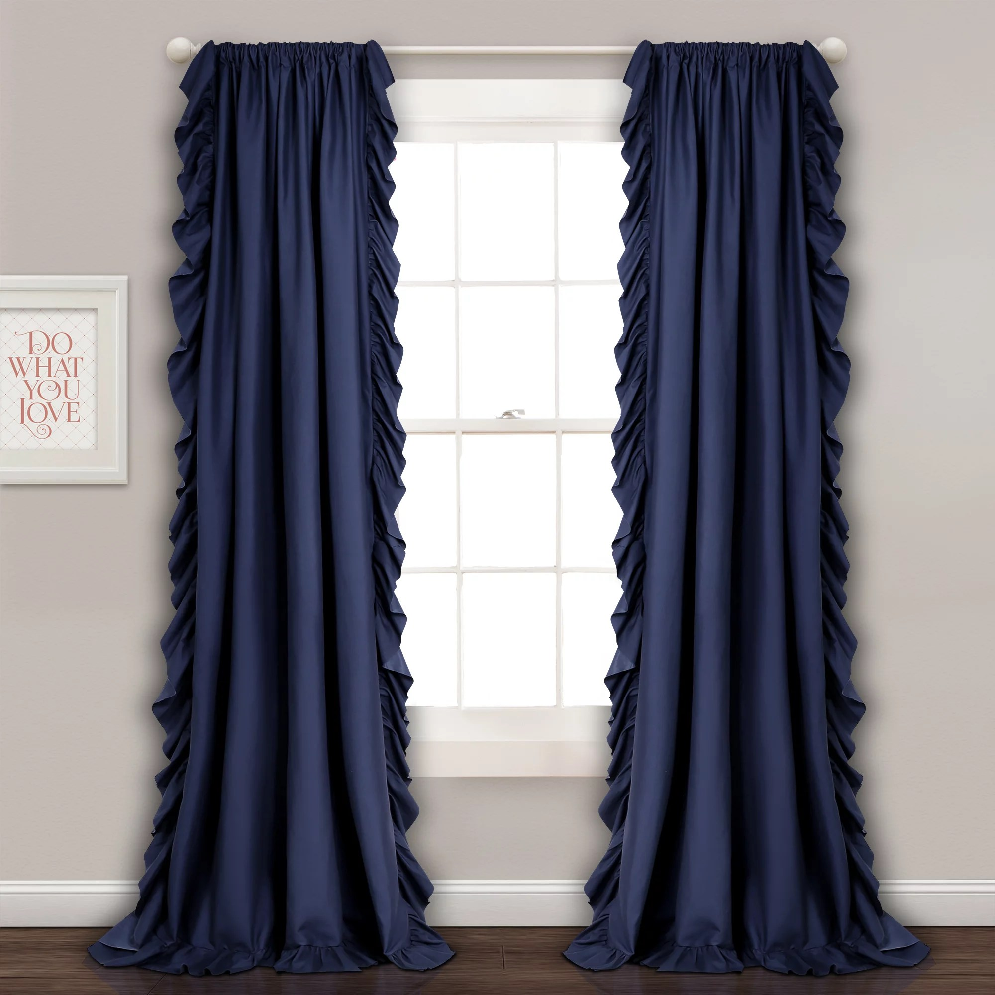 105 Inch Curtains Curtains Window Treatments Walmart